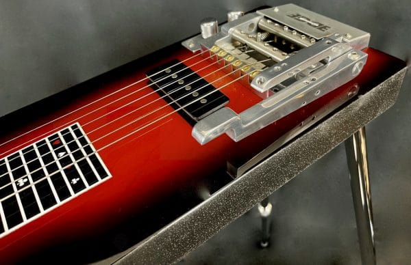 Lap Steel with Dual Levers