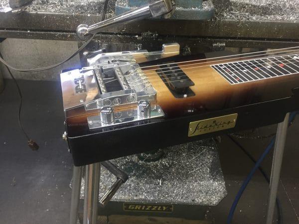 Lap Steel with Dual Benders