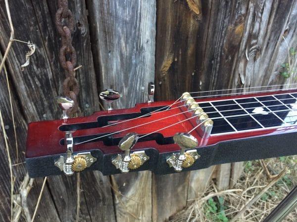 Lap Steel keyhead