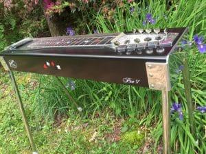 Black Pedal Steel Guitar