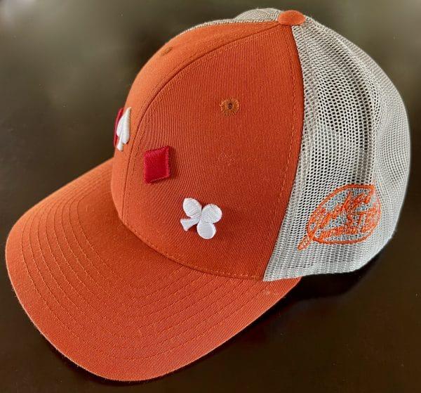 Orange Trucker Cap