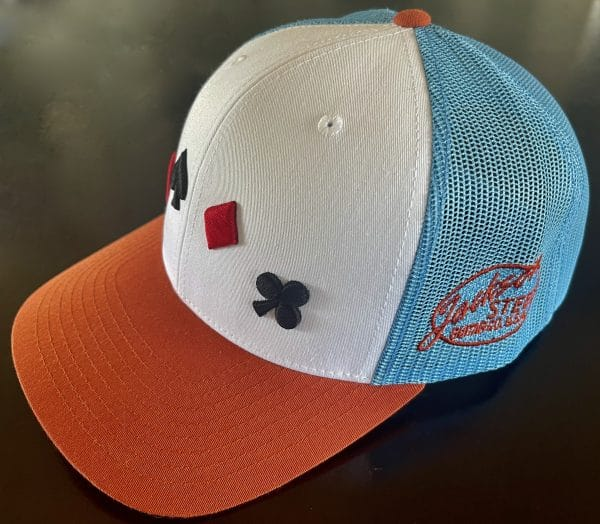 3D Embroidery Trucker Cap