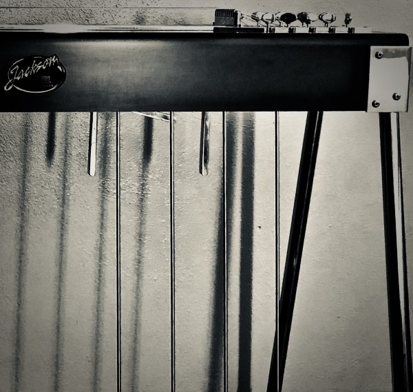 Black Pedal Steel Guitar