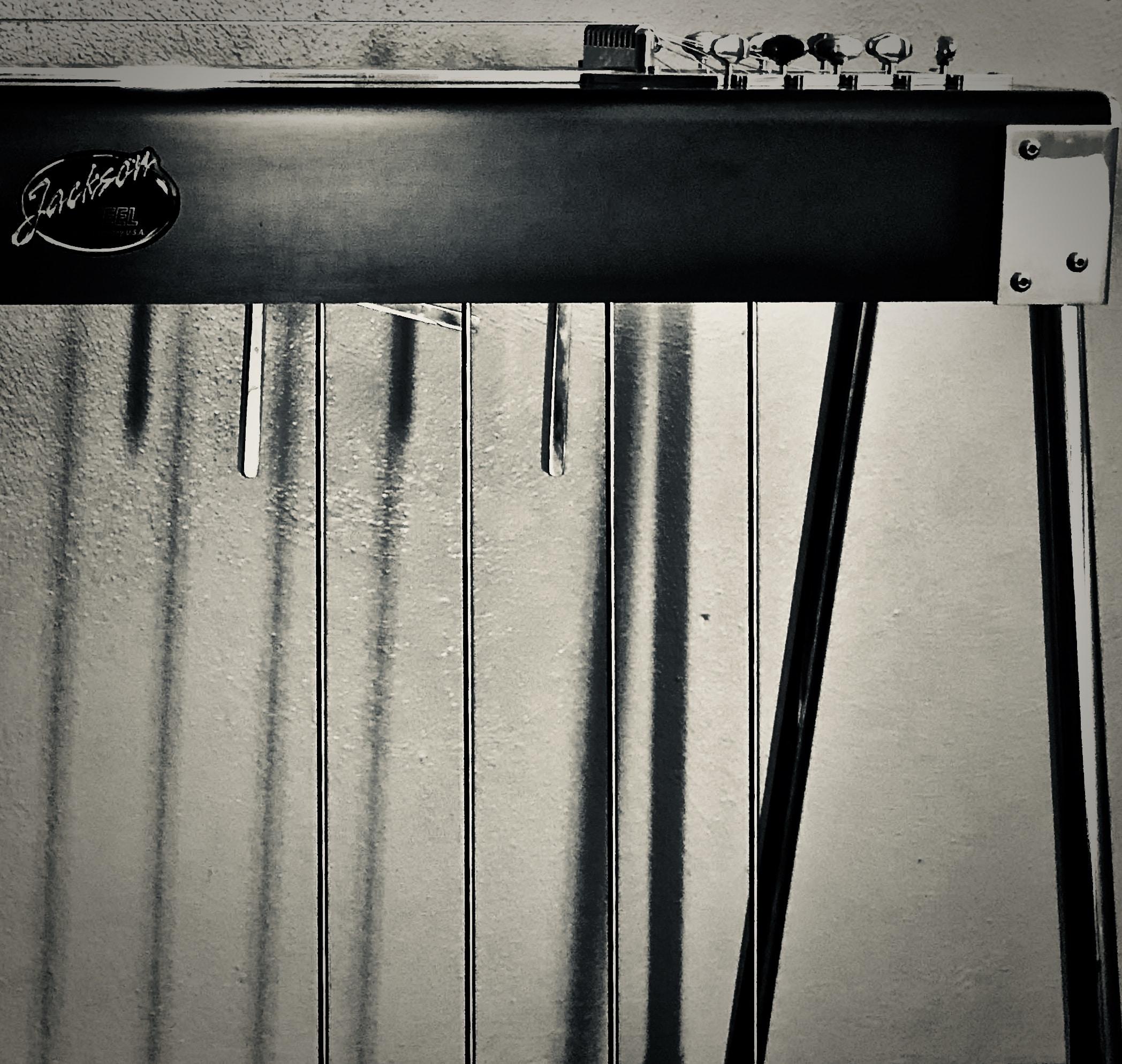 Pro V Aluminum Pedal Steel Guitar   Jackson Steel Guitar