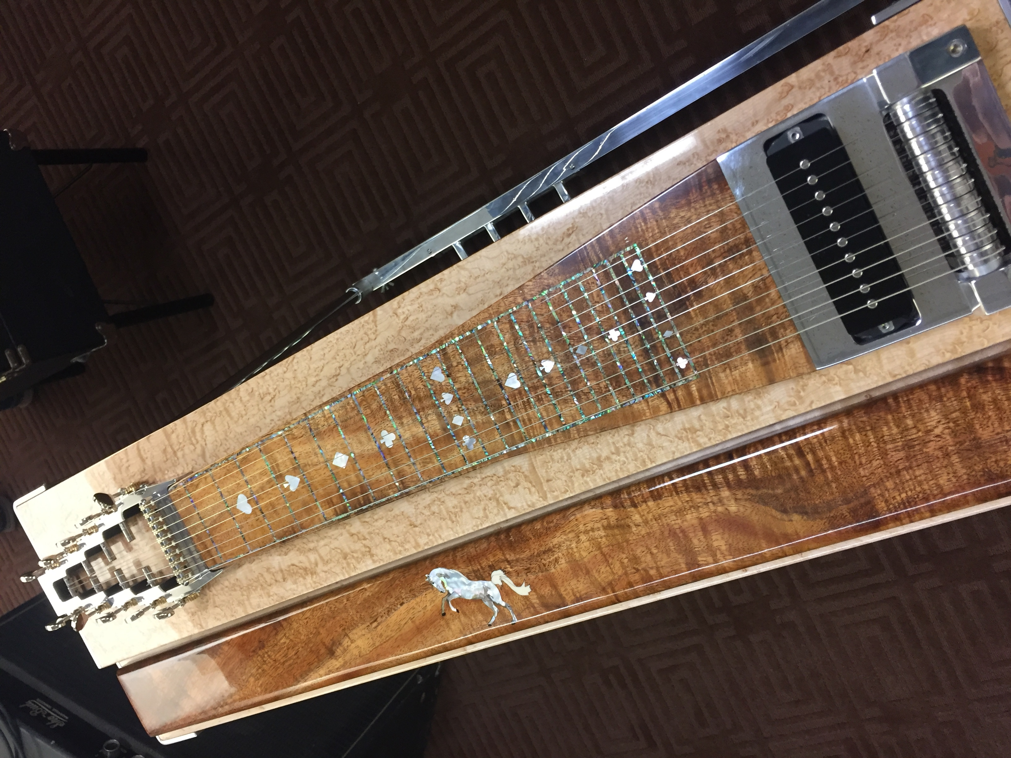 e9 pedal steel guitar pro v signature series jackson steel guitar. Black Bedroom Furniture Sets. Home Design Ideas