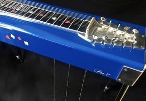 Aluminum frame pedal steel