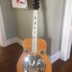 Sho-Bro 7 String Resonator with String Bender