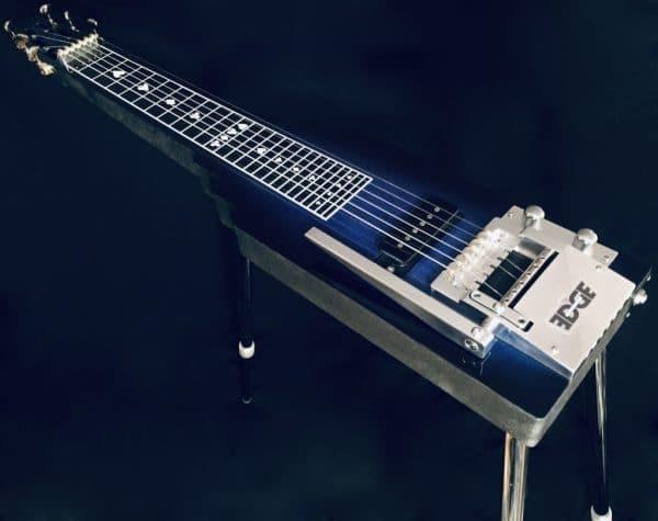 Blue Lap Steel Guitar