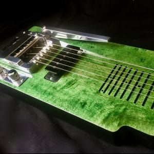 Lap Steel with pitch changer