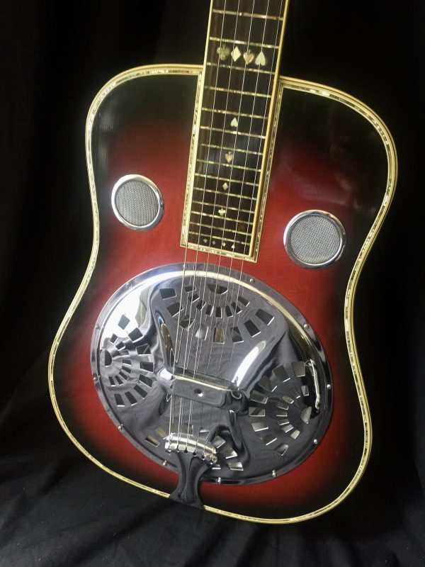 Sho-Bud Resonator with abalone inlay