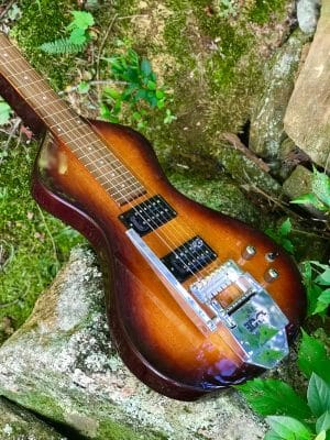 Asher lap steel with string bender