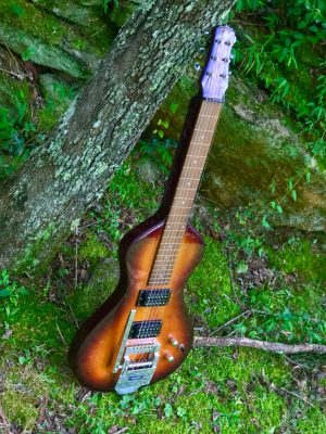 Asher lap steel with pitch changer