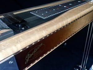 pedal steel with Birdseye maple