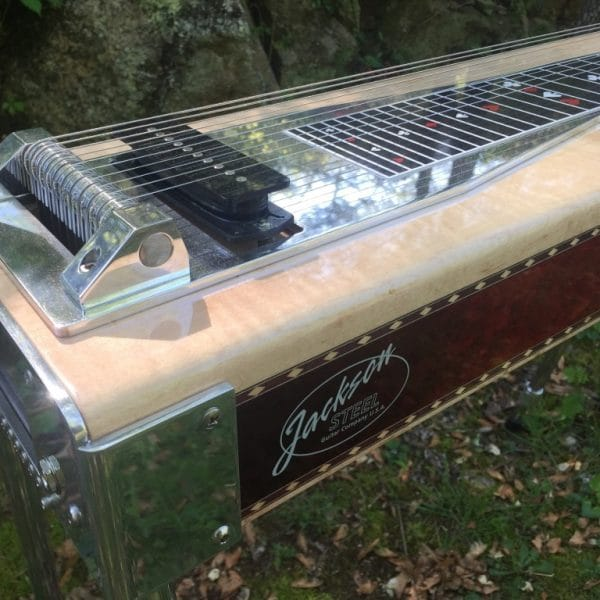 Lacquer pedal steel guitar